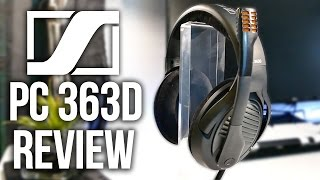 Sennheiser PC 363D Gaming Headset Review