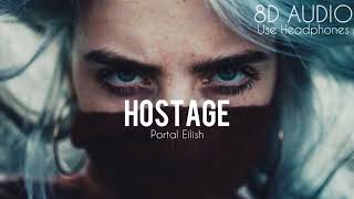 Billie Eilish   Hostage (8D AUDIO)
