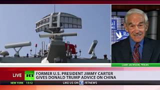 US militarism feast on China & Russia threats - Ron Paul to RT