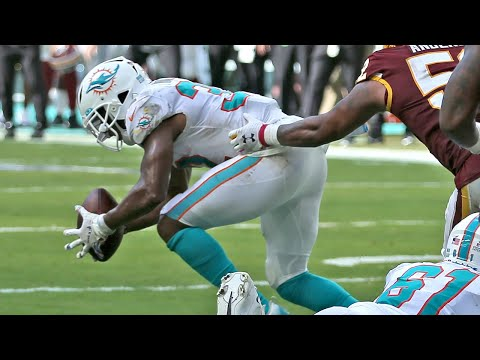 Dolphins RB Kenyan Drake puts the loss to the Redskins on his shoulders