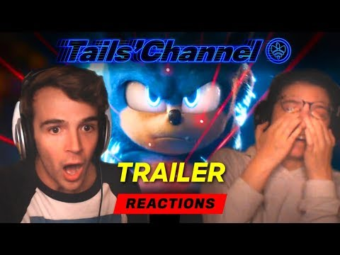 IT'S GOOD! - Redesigned #SonicMovie Trailer - Our Thoughts and Reactions!