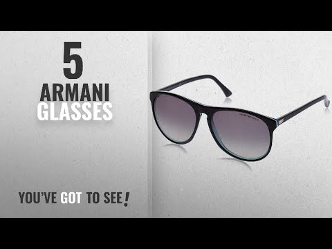 Top 10 Armani Glasses [2018]: Emporio Armani Sunglasses