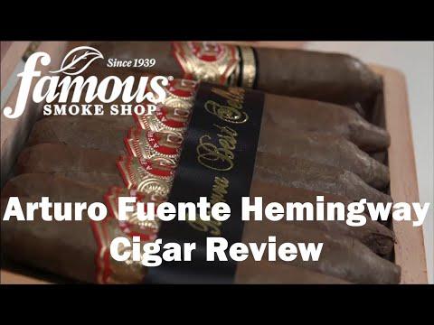 Arturo Fuente Hemingway video