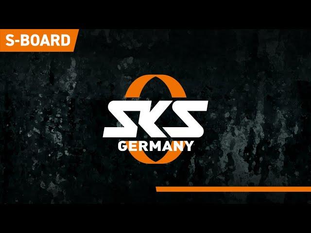 Видео Крыло SKS S-BOARD BLACK
