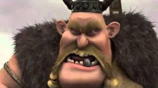 preview picture of video 'Legend of the Boneknapper DragonTrailer(2010) DUQA'