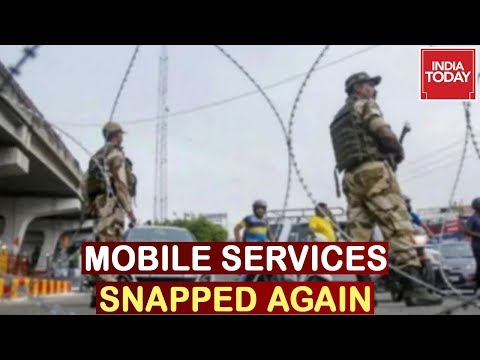 Mobile Services Snapped In Jammu Again, Fresh Curbs Imposed Day After Resuming Service