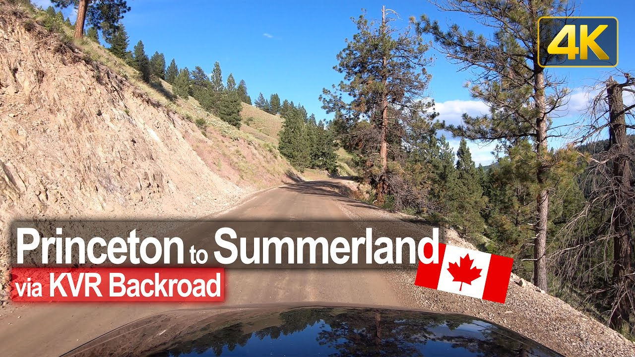Driving the backroad from Princeton to Summerland | British Columbia, Canada