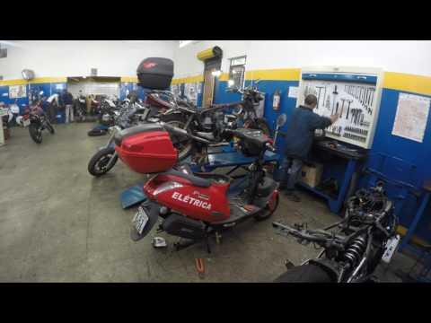LR Motos - Processo de Manutençao da Kasinski Prima Eletrica 2000 Vermelha - 3076
