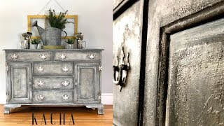How To Create Texture With Chalk Paint