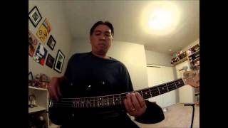 """Whats The Matter Here?"" (10,000 Maniacs) Bass Cover"