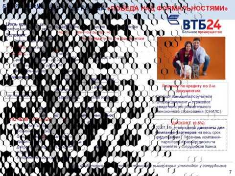 Ипотека ВТБ24 май 2016