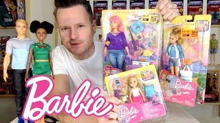 BARBIE TRAVEL DREAMHOUSE ADVENTURES SIGNATURE LOOK COLLECTION UNBOXING REVIEW CHELSEA DAISY STACIE