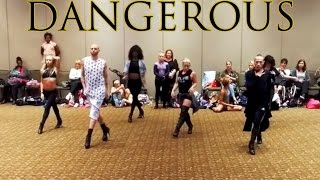 Jennifer Hudson Dangerous Choreography by Brian Friedman at VIP Toronto