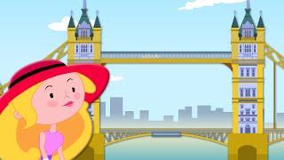 London Bridge Is Falling Down | Nursery Rhymes | Kids Songs | Baby Rhymes