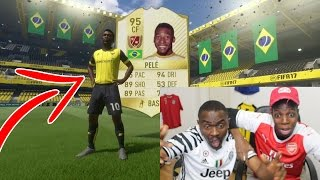 MY DAD PACKS A LEGEND YOU NEED TO SEE!! - (FIFA 17 PACK OPENING)