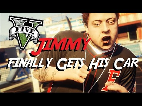 GTA 5 Jimmy Finally Gets A Car
