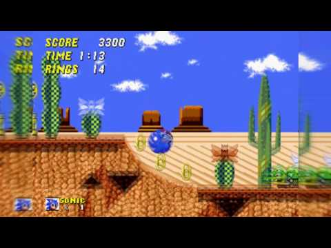 Sonic Mania - Mirage Saloon Zone Act 2 (Sega Genesis 16-bit Remix) Mp3