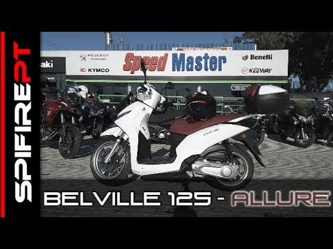 PEUGEOT BELVILLE 125 – TestDrive & Review