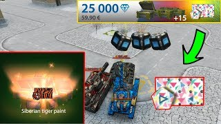 Tanki Online  Black Gold Box Montage #24 + Special Event 100 Gold Rain With (ADMINS)