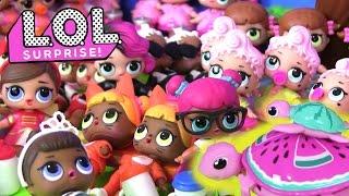 Видео для Детей. МОЯ КОЛЛЕКЦИЯ #ПУПСИКОВ LOL BABY DOLLS. Сюрпризы #Куклы