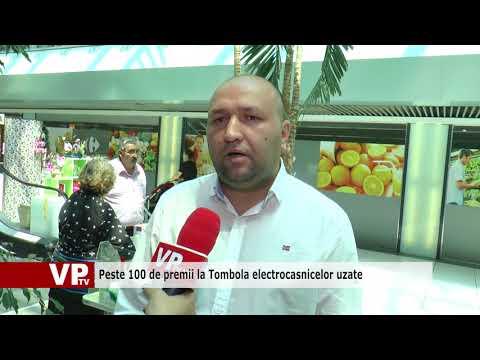 Peste 100 de premii la Tombola electrocasnicelor uzate