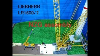 Re-edit! Liebherr LR 1600-2 +Derrick  NZG Assembly