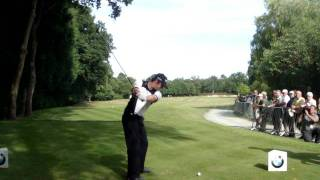 preview picture of video 'Rory McIlroy on the 18th, Wentworth 2011 Pro-am Wednesday'