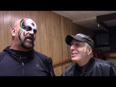 MY UNEDITED FINAL INTERVIEW WITH ROAD WARRIOR ANIMAL — NOV/2019 @ BUD CARSON'S WRESTLING CONVENTION