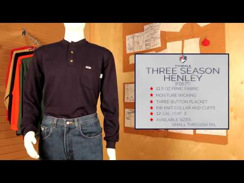 Three Season Henley F067T