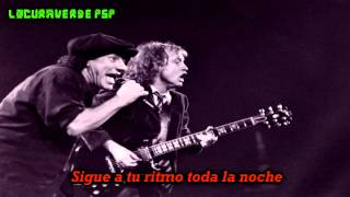 AC/DC- Anything Goes- (Subtitulado en Español)