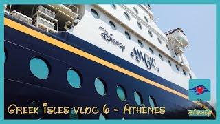 Disney Cruise Greek Isles 2014 Vlog - 6 - With English Subtitles