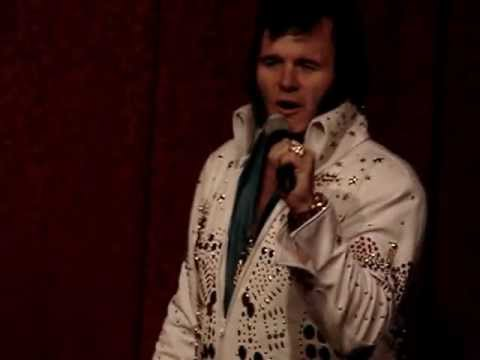 Poole Paige as Elvis, September 9th at The Italian American Club, Las Vegas