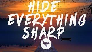 Gambar cover WSTR - Hide Everything Sharp (Lyrics)