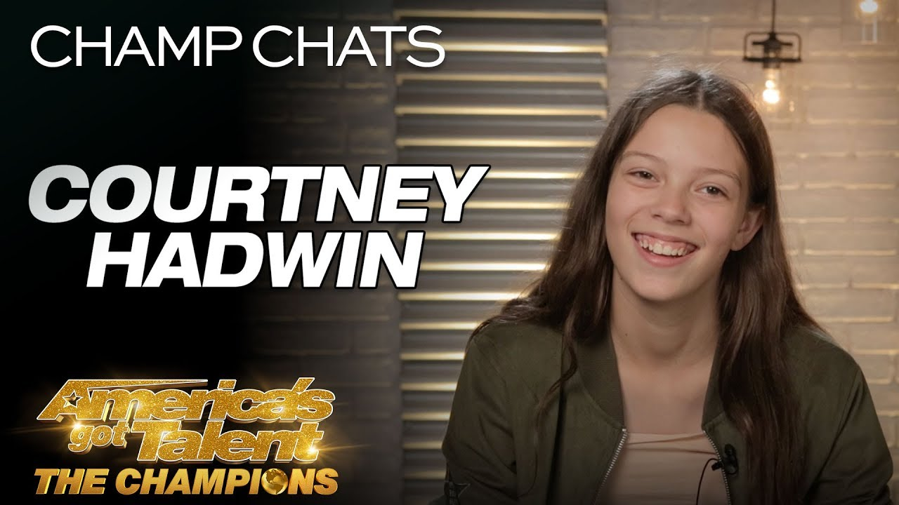 """Courtney Hadwin Chats About Her Original """"Pretty Little Thing"""" - America's Got Talent: The Champions thumbnail"""