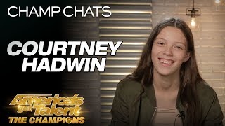 "Courtney Hadwin Chats About Her Original ""Pretty Little Thing"" - America"