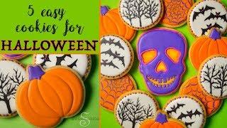 5 Easy Cookies For Halloween!