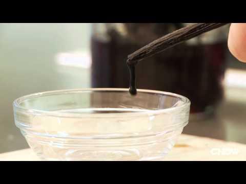 Soak Vanilla Beans In Rum To Remove Seeds