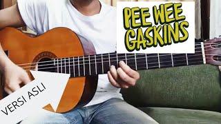 Tutorial Gitar Pee Wee Gaskins   Ikut Aku Ke Bulan Simple Dan Mudah Di Pahami ( Versi Asli)