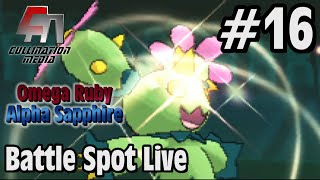 Maractus  - (Pokémon) - Pokemon Omega Ruby and Alpha Sapphire: Battle Spot Live #16: The Murderous Maractus