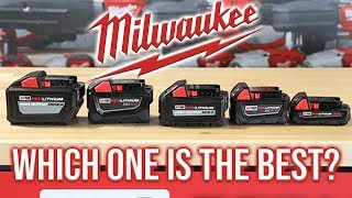 Milwaukee M18 Tools BEST RED LITHIUM Battery To Use!