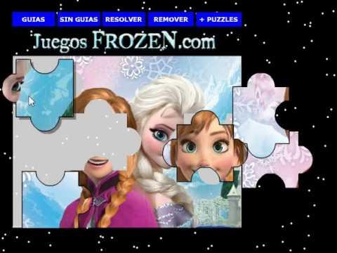Disney Die Eiskönigin Elsa und Anna neues kostenloses online Puzzle