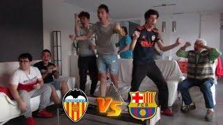 REACCIONES DE LA FINAL DE COPA DEL REY / VALENCIA 2-1 BARCELONA