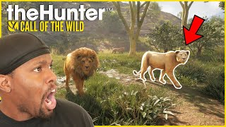 Hunting A LION In The African Savanna! (theHunter: Call Of The Wild)