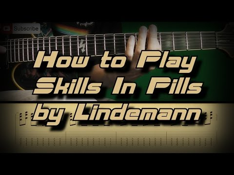 How To Play Lindemann - Skills in Pills Как играть, Guitar lesson