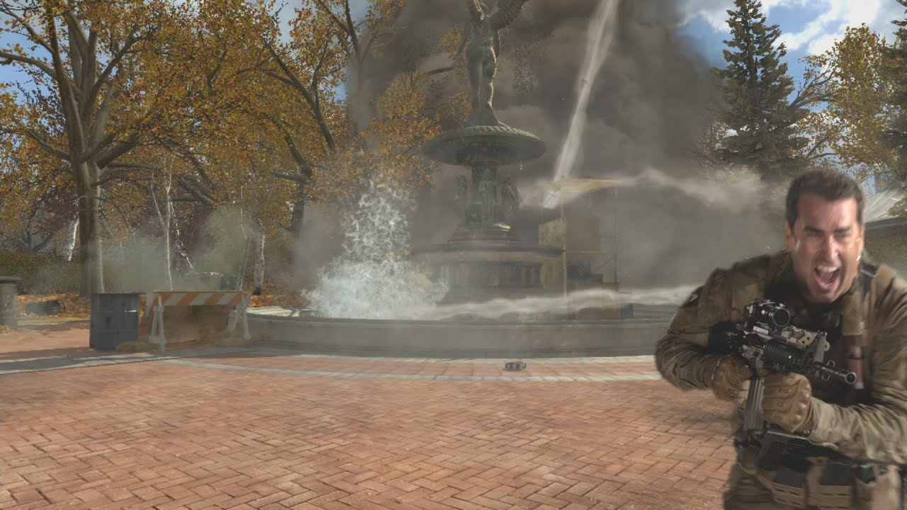 Rob Riggle Shows You Today's New Modern Warfare 3 Maps, Yells A Lot