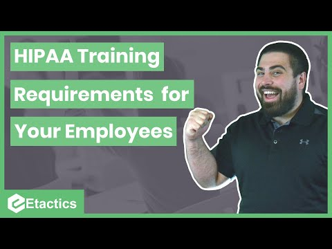 HIPAA Training Requirements for Your Employees