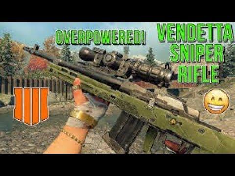 The NEW 'VENDETTA' SNIPER RIFLE... it's so good , ( almost Nuclear)