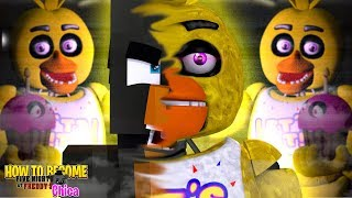 Minecraft Adventure -  How To Become FNAF CHICA!!