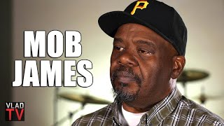"""Mob James Saw 2Pac Spitting on Fans, """"MOB"""" Tattoo Wasn't Authorized by OGs (Part 18)"""