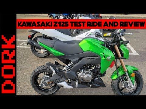 Honda Grom vs Kawasaki Z125 - IN RIDE Comparison! - BLOCKHEAD